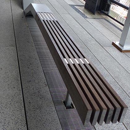 Banc public sur la High Line