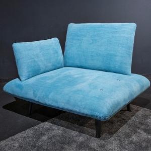 fauteuil moov bleu accoudoir profil